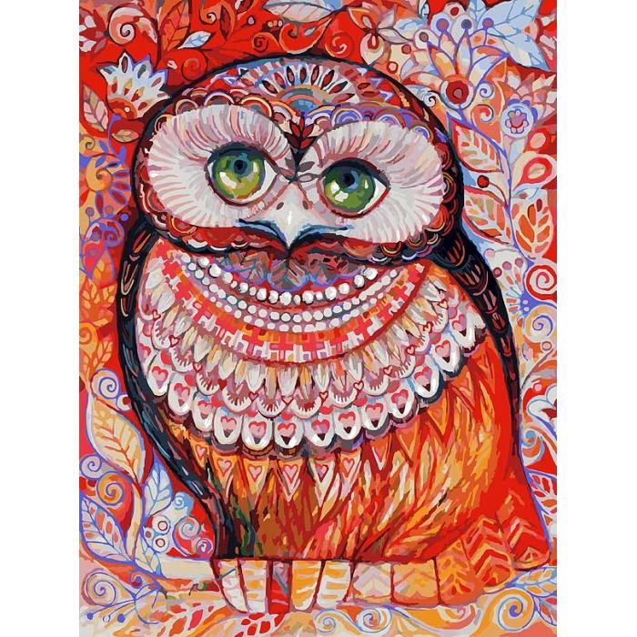 Живопись на картоне Белоснежка арт.БЛ.3074-CS Медовая сова 30х40 см